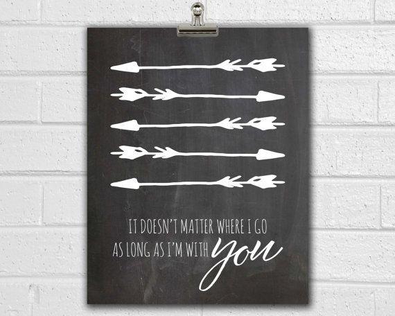 Best Traveler Print Arrow Wall Art Love Arrow Romantic 640 x 480