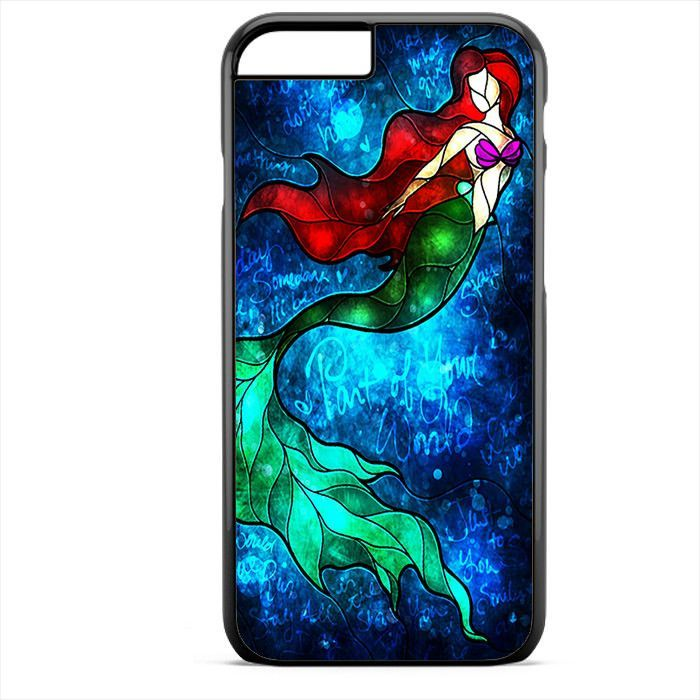 Art Of Little Mermaid Ariel Painting Phonecase For Iphone 4/4S Iphone 5/5S Iphone 5C Iphone 6 Iphone 6S Iphone 6 Plus Iphone 6S Plus