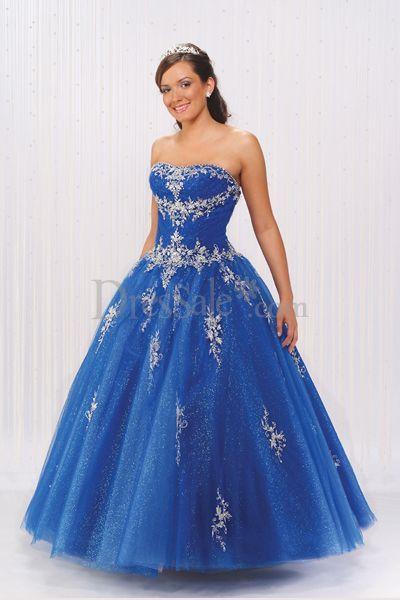 1000  images about Blue wedding dresses on Pinterest  Oscar de la ...