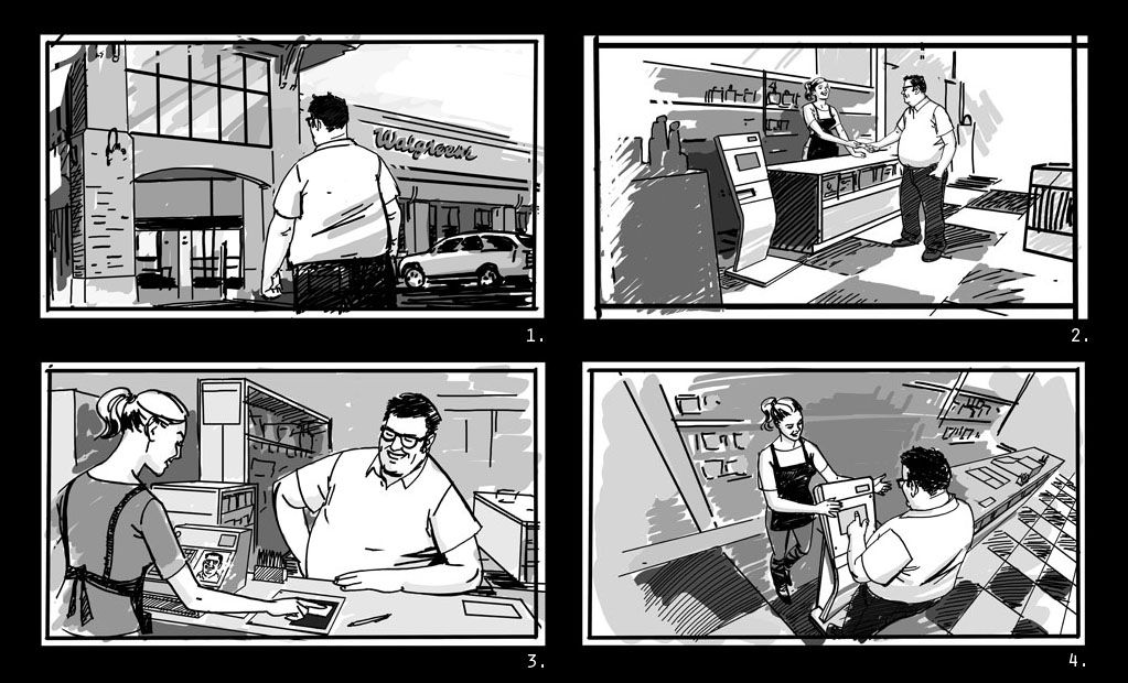 Storyboards Jonathan Case Rapid-visual Pinterest Storyboard - visual storyboard