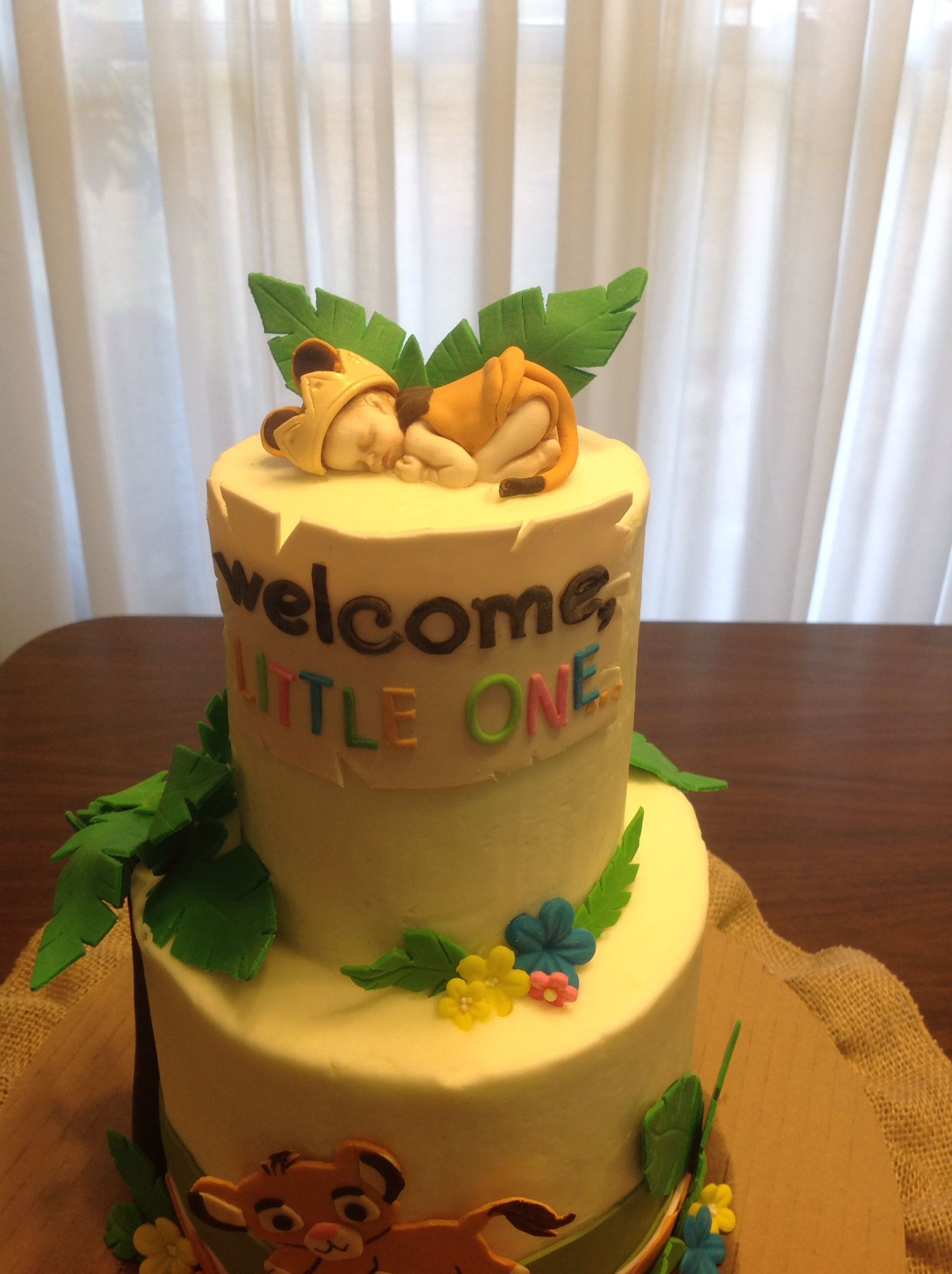 Lion King Baby Shower Cake Continued Lion Cakes Baby Shower