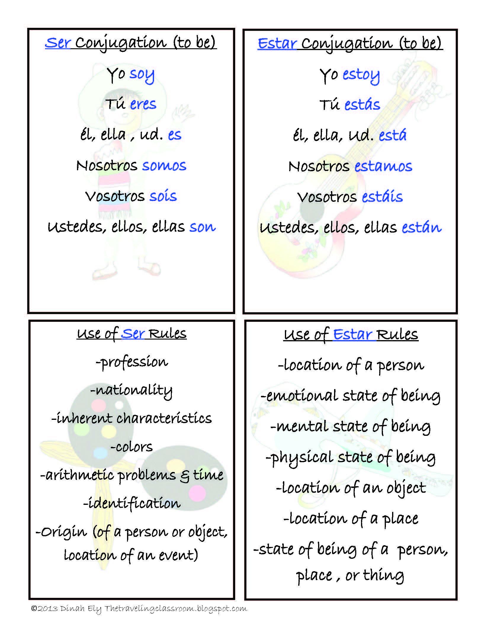 Free Spanish Verbs Ser Estar Tener Vivir Comer Tomar Spanish Language Learning Spanish Flashcards Spanish Teaching Resources