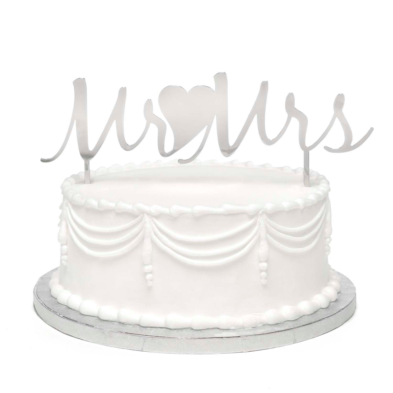 Mr And Mrs Metal Wedding Cake Topper Pick By Milleniumgifts On Etsy Wedding Cake Picks Diy Wedding Cake Metallic Wedding Cakes