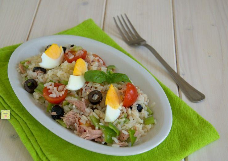 Pranzo Freddo Ufficio : Linsalata di riso alla nizzarda è un gustoso primo piatto freddo