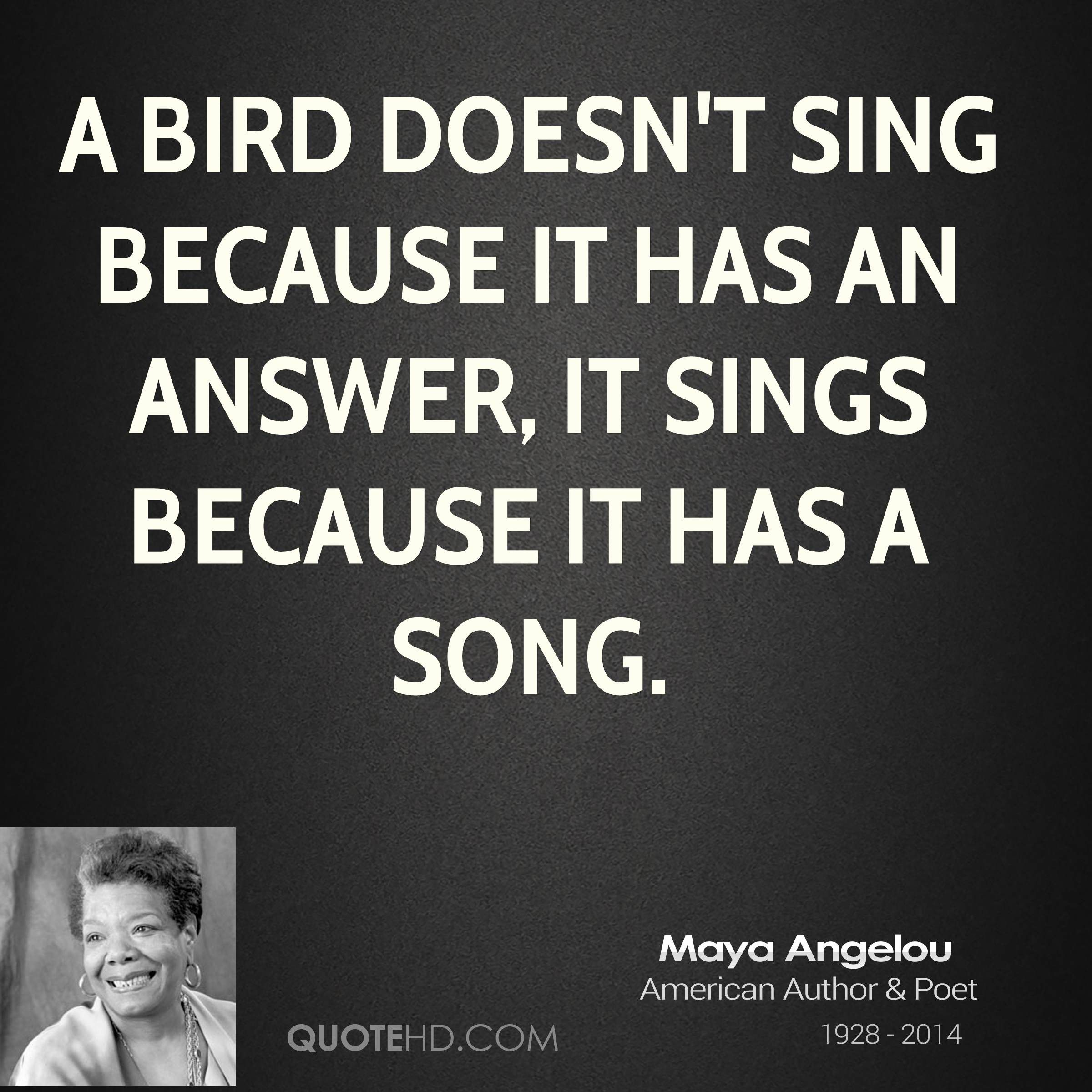 Maya Angelou Quotes And Sayings