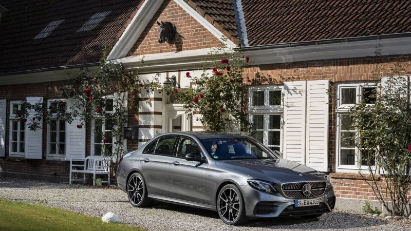 The 2017 Mercedes Amg E43 Is The First Of A Whole New Family Of