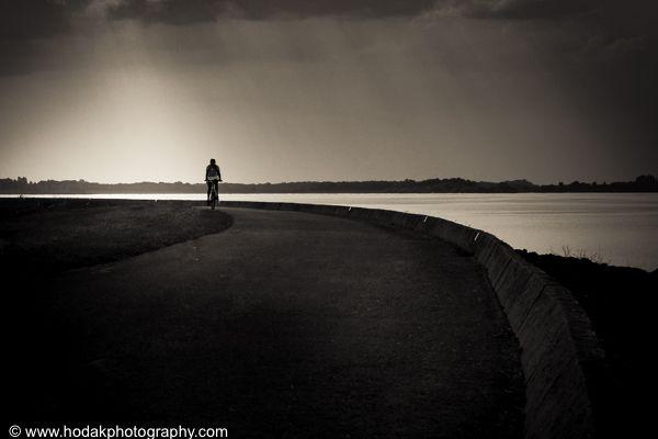 Cycling biy the lake - Alex Hodak