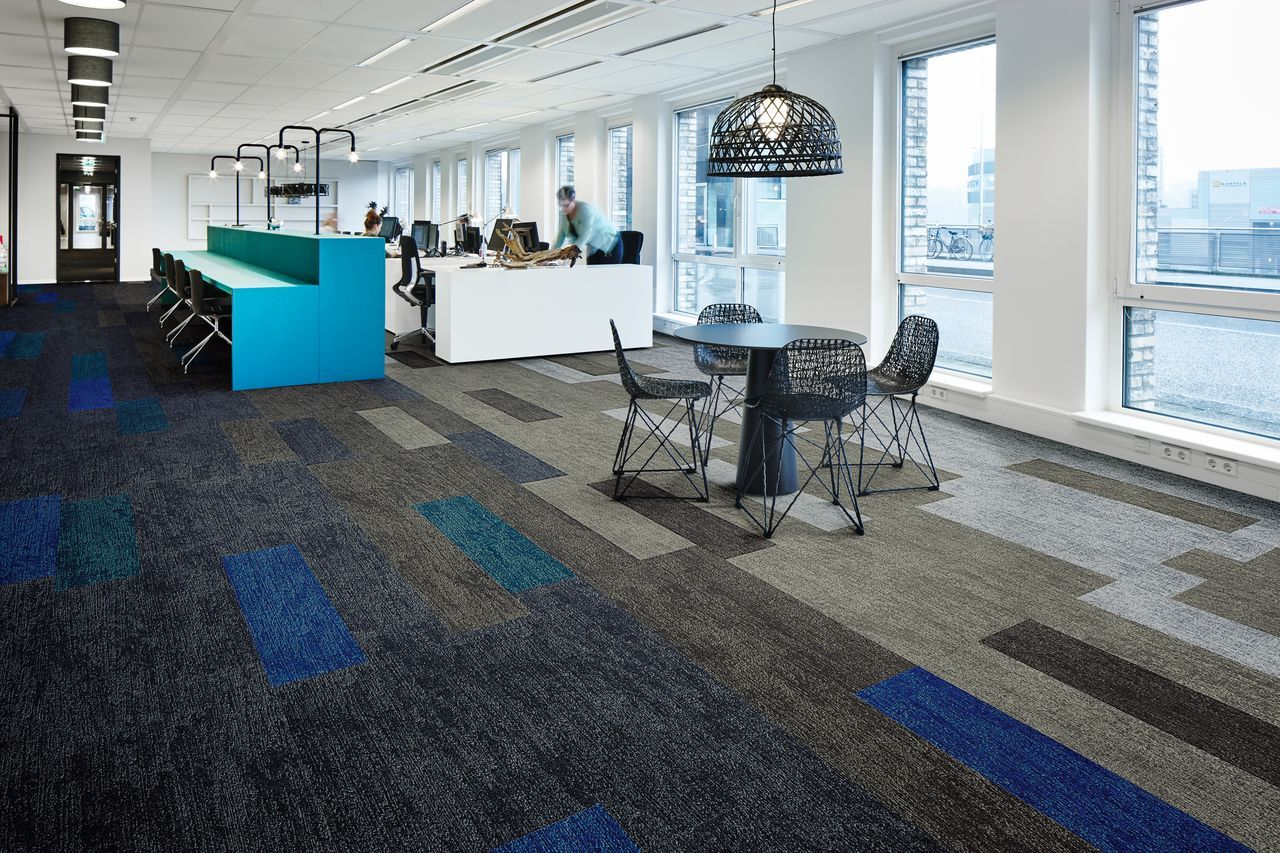 Flotex Planks Flocked Textile Flooring For Offices Commercial Office Interior Design Fit Out Office Interiors Flooring Commercial Office