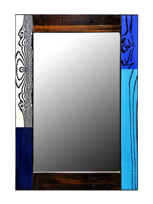 Espejo de colores de la línea Piccadilly
