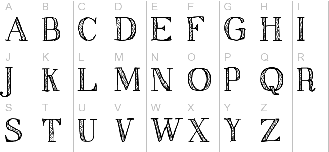 Sketch Serif | 3D Fonts, Animals Fonts, Arabic Fonts, for