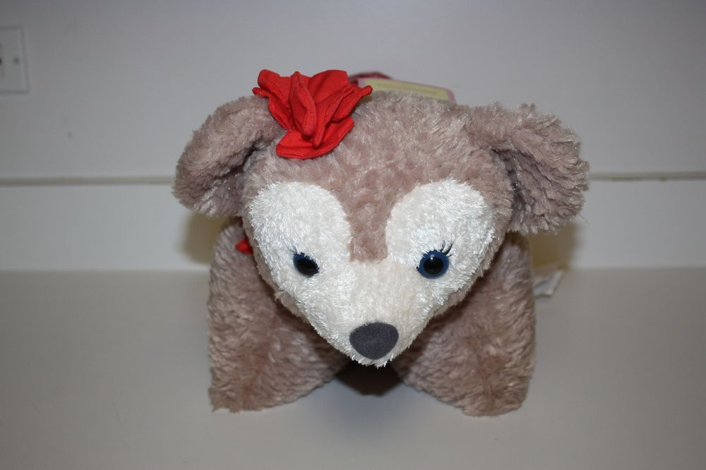 New Rare Shellie May Disney Aulani Duffy Bear Hawaii Exclusive Pillow Pet Animal Pillows Disney Pillow Pets Disney Pillows