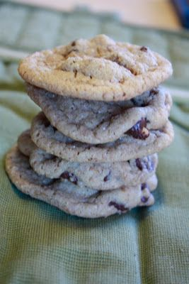 Mmm...Cafe: Katie's Chocolate Chip Cookies
