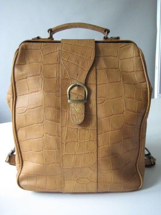 316c104364a python print cork bag | Bags - Handtassen en Tassen