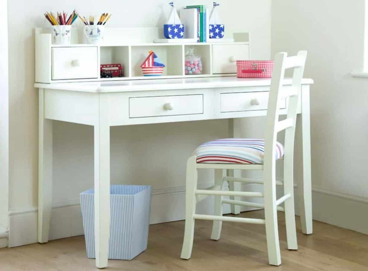 Cute white study tables study table childrens desk