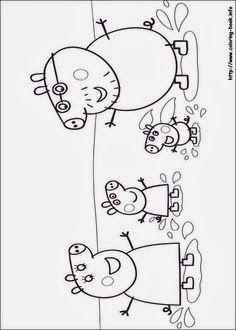 Ideias Para Festa Peppa Pig Crafts For Kids Peppa Pig Para