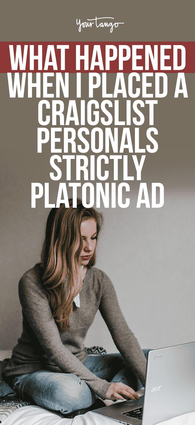 Platonic personals