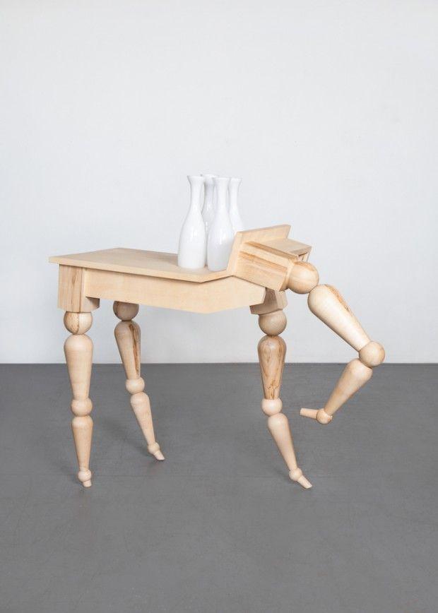 Table «Locomotion» par le designer Tchèque Vendulka Prchalová - Journal du Design