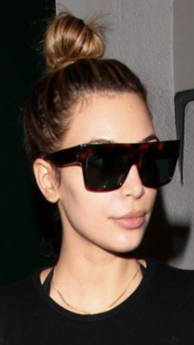 f4494d517a0 Kim Kardashian   sunglasses (can t distinguish if they are Dita ...