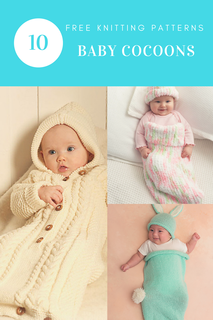 10 Free Knitting Patterns for Baby Cocoons | Free Knitting Patterns ...