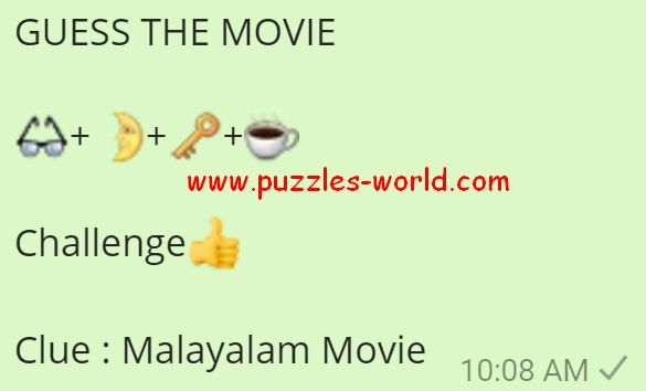 Guess The Movie Malayalam Movie Guess The Movie Movies Malayalam Funny Questions