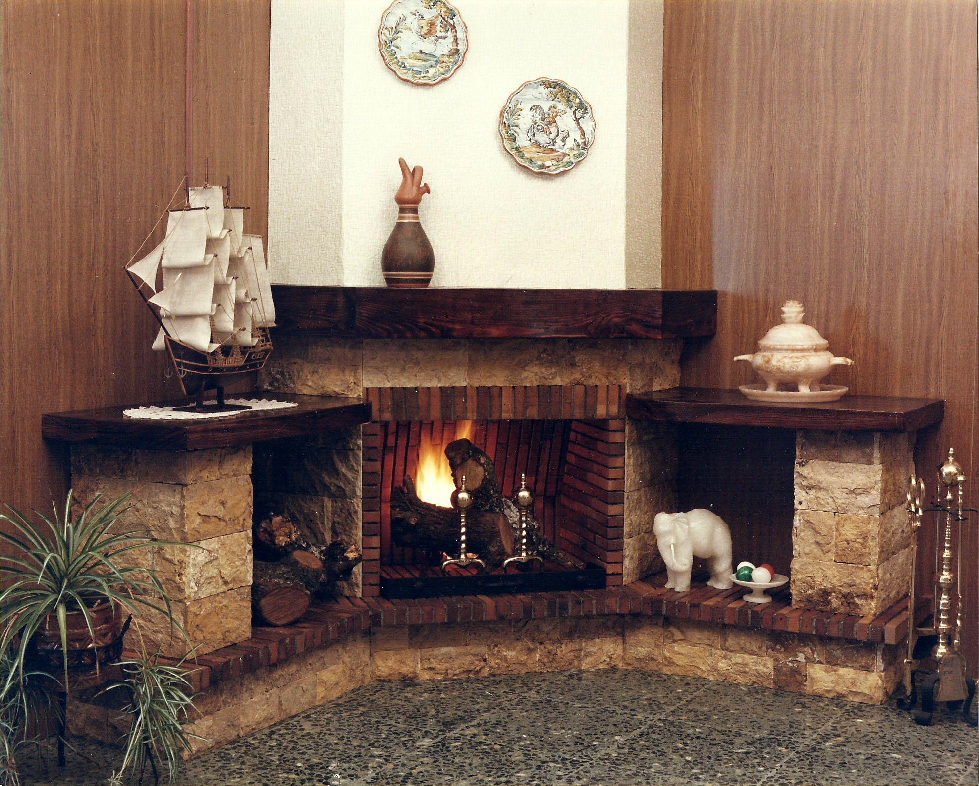 Salas con chimeneas buscar con google chimeneas - Ver chimeneas rusticas ...