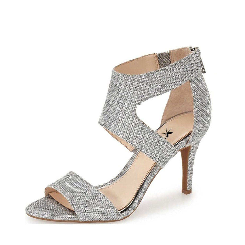 a6d6eb2b120 XYD Women Elegant Dress Shoes Red Sandals New Pumps Low Heels ...