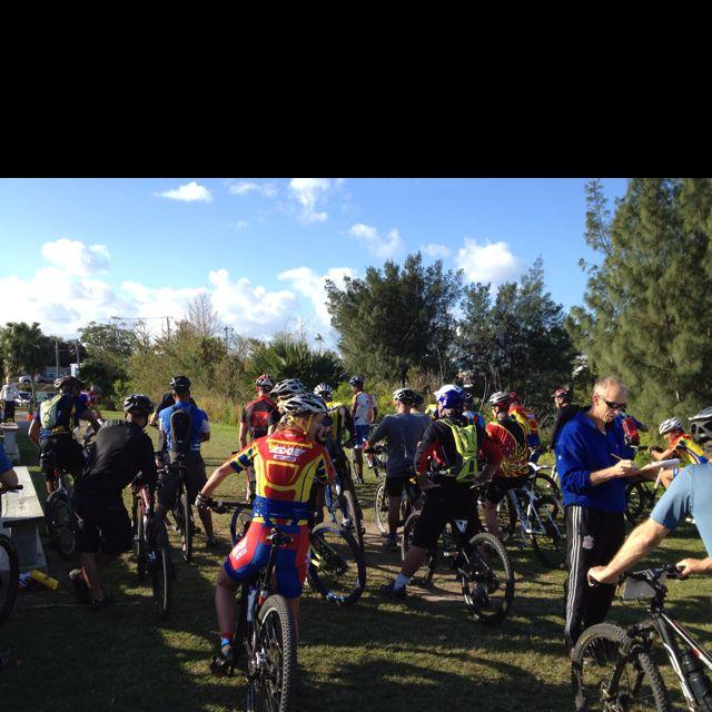 MTB racing in #Bermuda