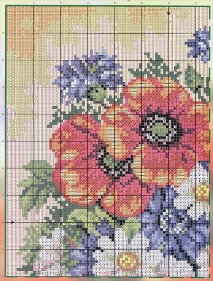 Maki Kwiaty Izyda55 Chomikuj Pl Strona 6 Cross Stitch Flowers Cross Stitch Patterns Cross Stitch