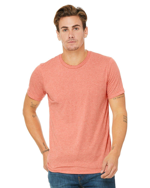 b0bafb15 Bella + Canvas Unisex Triblend Short Sleeve T-Shirt 3413C Sunset Triblend