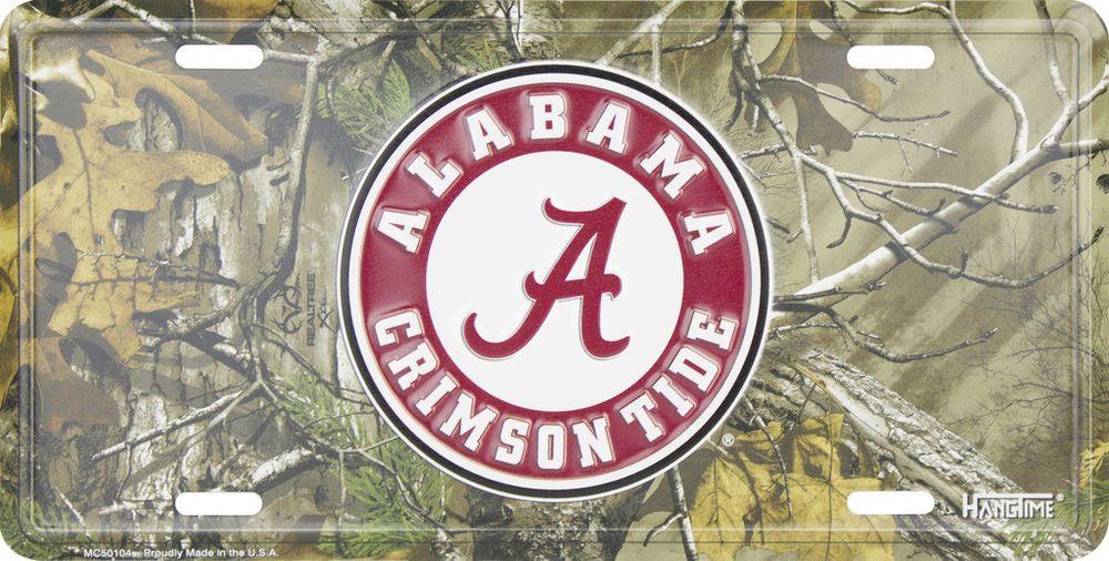 Alabama Crimson Tide Licensed Roll Tide License Plate Tag by NCAA