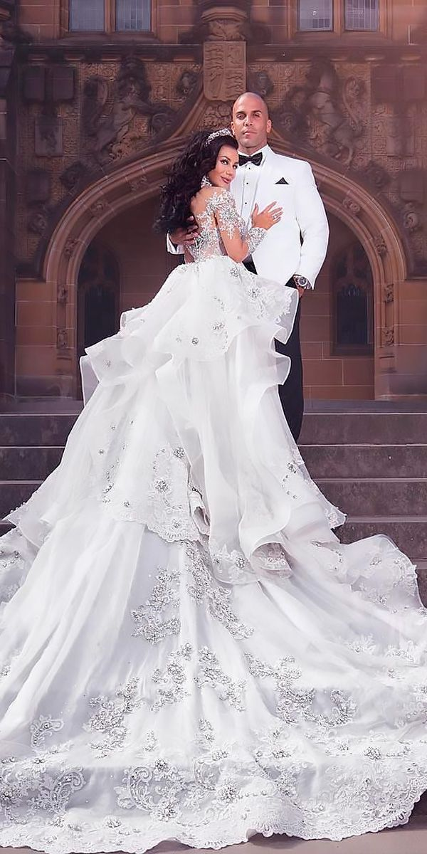 24 Awesome Ball Gown Wedding Dresses You Love | Ball Gown & A-line ...