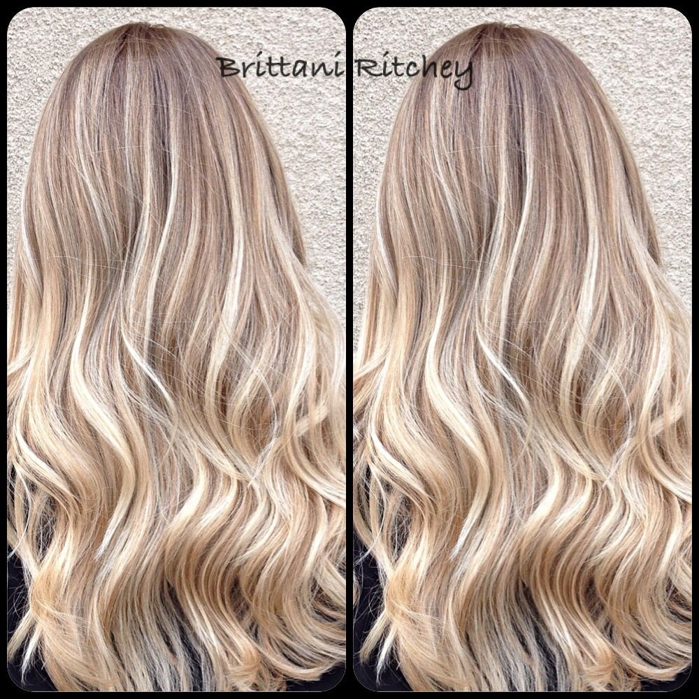 Balayage Highlights With Warm Lowlites H A I R Pinterest