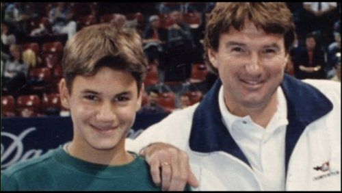 Young Rodger Federer [with Jimmy Connors] | Federer Has My Heart <3