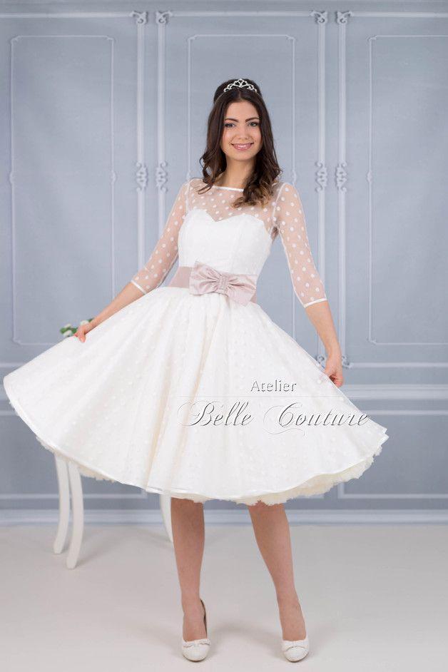 50er Jahre Brautkleid \