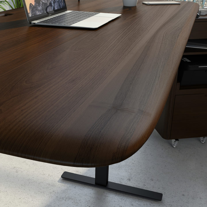 Whether It Is The Alluring Beauty And Smoothed Edges Of The Solid Hardwood Desktop Or Inno Adjustable Height Standing Desk Standing Desk Comfortable Workspace