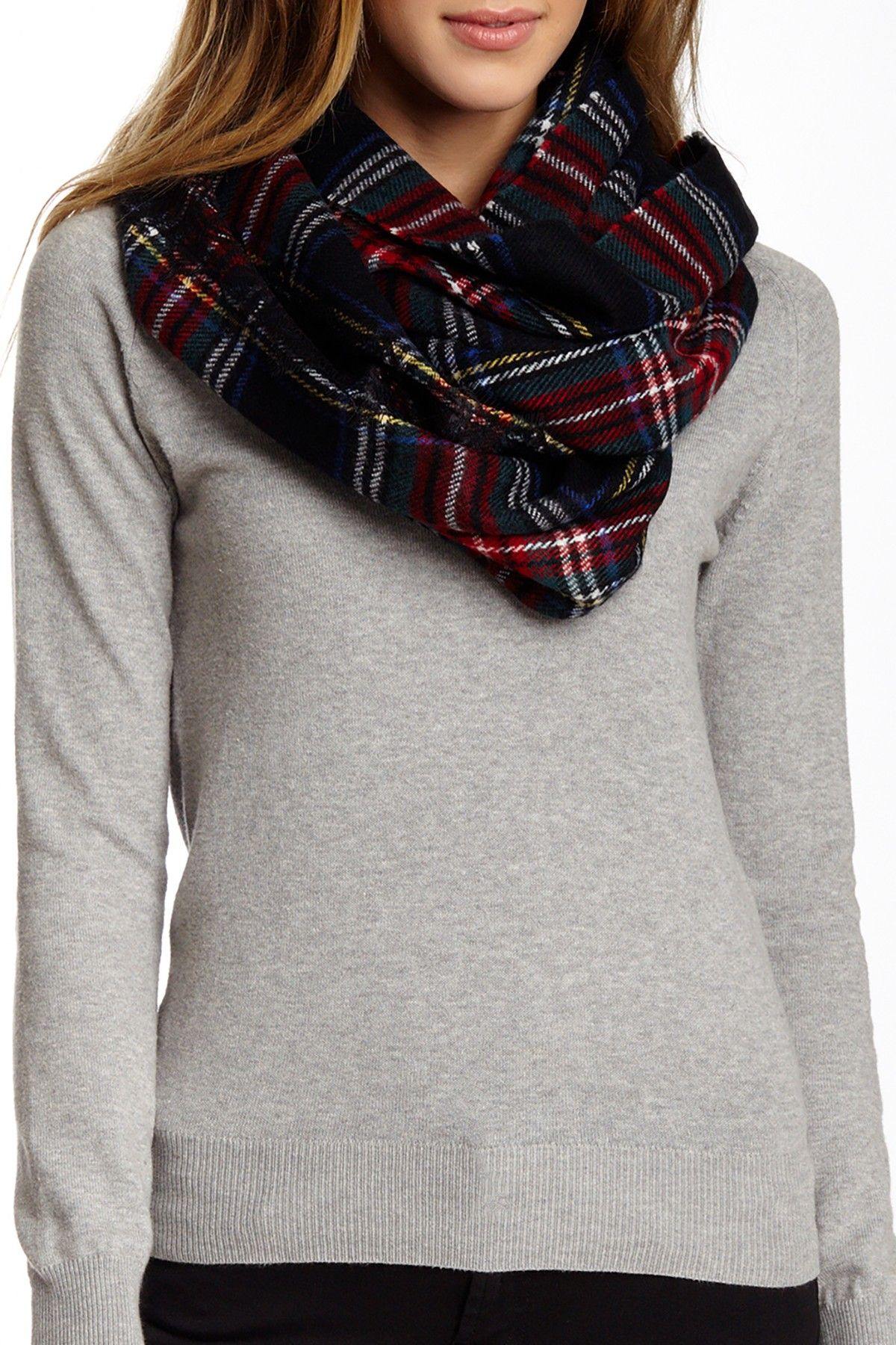 aa4c998a5 I'm obsessed with this Betsey Johnson Plaid Infinity Scarf | Nordstrom Rack  Sponsored by Nordstrom Rack.