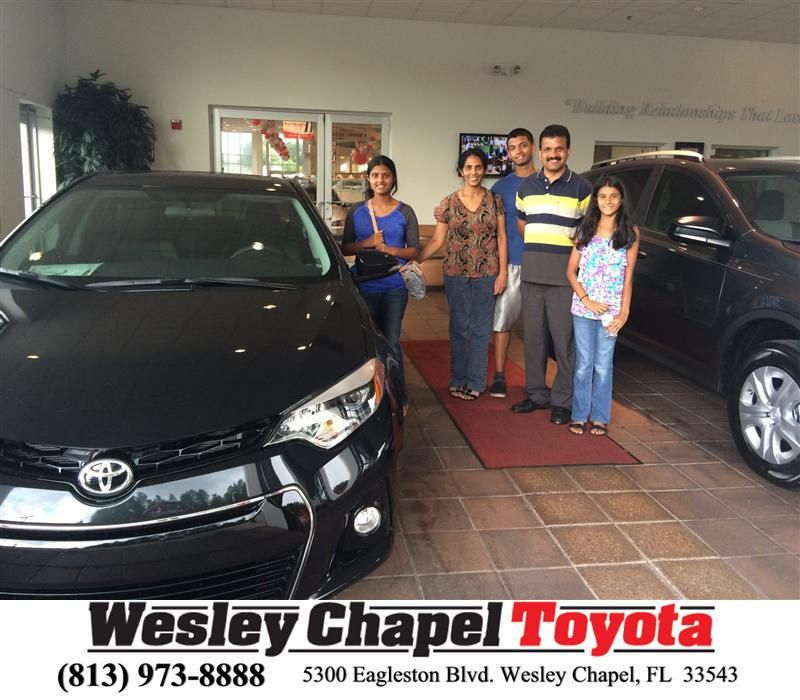"https://flic.kr/p/vn32w6 | Congratulations to Anumol Thomas on your #Toyota #Corolla from Amanda Baron at Wesley Chapel Toyota! #NewCar | <a href=""http://www.wesleychapeltoyota.com/?utm_source=Flickr&utm_medium=DMaxxPhoto&utm_campaign=DeliveryMaxx"" rel=""nofollow"">www.wesleychapeltoyota.com/?utm_source=Flickr&utm_med...</a>"