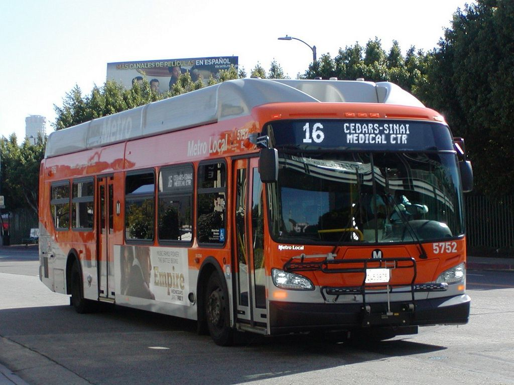 Lacmta Metro Local Nfi Xn40 Lfw Cng Cleaned Compressed