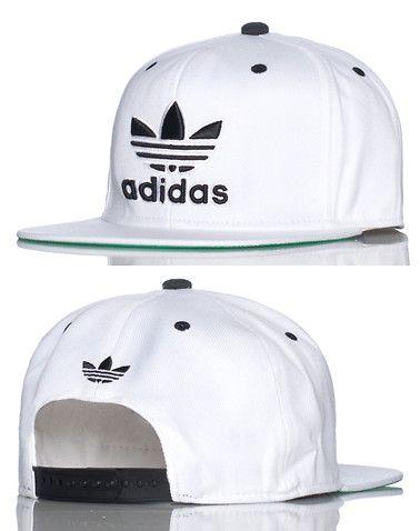 3faffe39bb2 adidas MENS TRASHER SNAPBACK CAP White