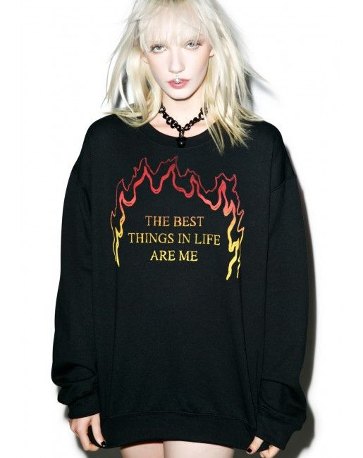 Best Things Sweatshirt | Dolls Kill