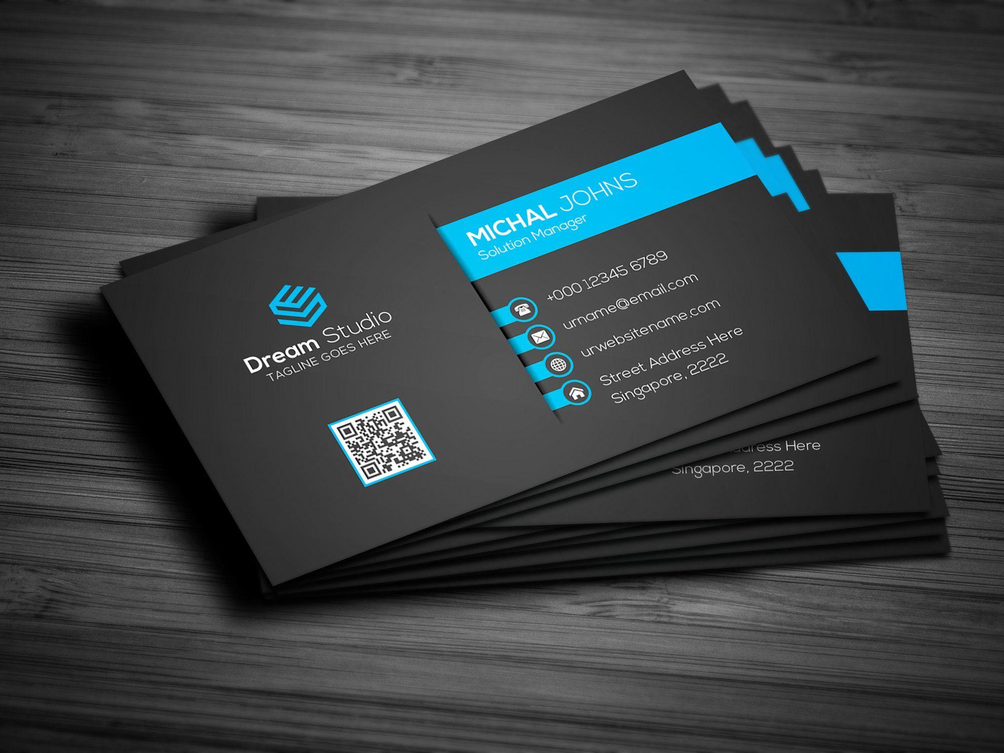 Creative modern business card modern business cards