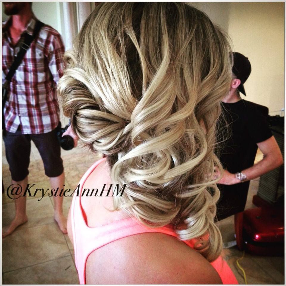 hair: www.krystieann blonde hair, blonde updo, bridal hair
