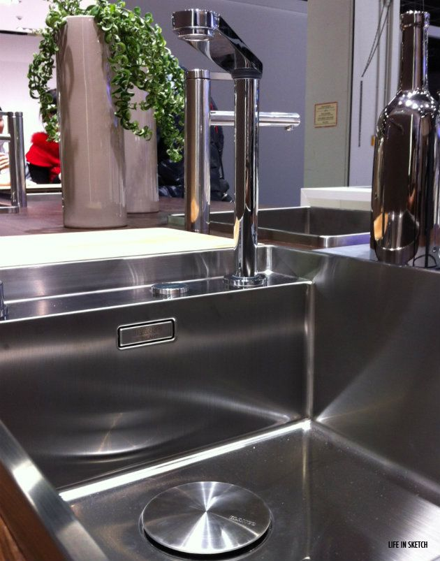 Blancos retractable faucet, shown at IMM Cologne | cuisine et s.à.m ...