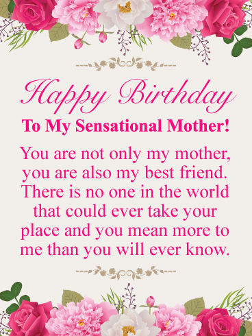 Pleasant Impress Your Mother This Year By Sending An Exquisite Birthday Funny Birthday Cards Online Fluifree Goldxyz