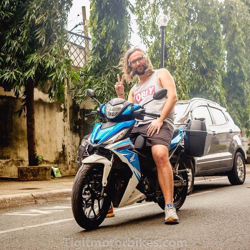 Super Nice Customer Travels Vietnam On The Blue Honda Winner 150 Tigitmotorbikes Travelonbike Travelvietnam Motorbikevietnam Vietnam Travel T Mo Vietnam