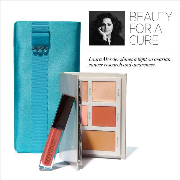 Shop Kate Middleton's clutch to support the Laura Mercier Ovarian Cancer Fund:  http://shop.harpersbazaar.com/designers/lauramercier/