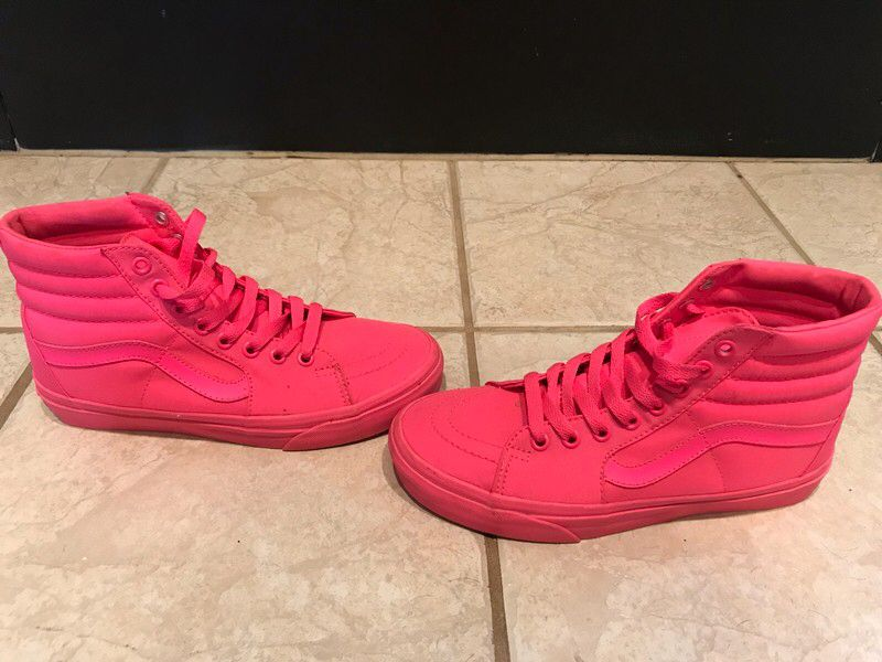 My Pink Vans by Vans. Size 7 for   15.00  http    65dacf67e