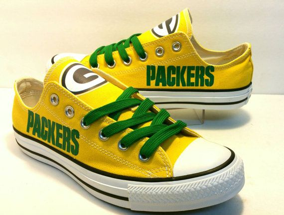 Greenbay Packers Women Custom All-Star Converse Shoes
