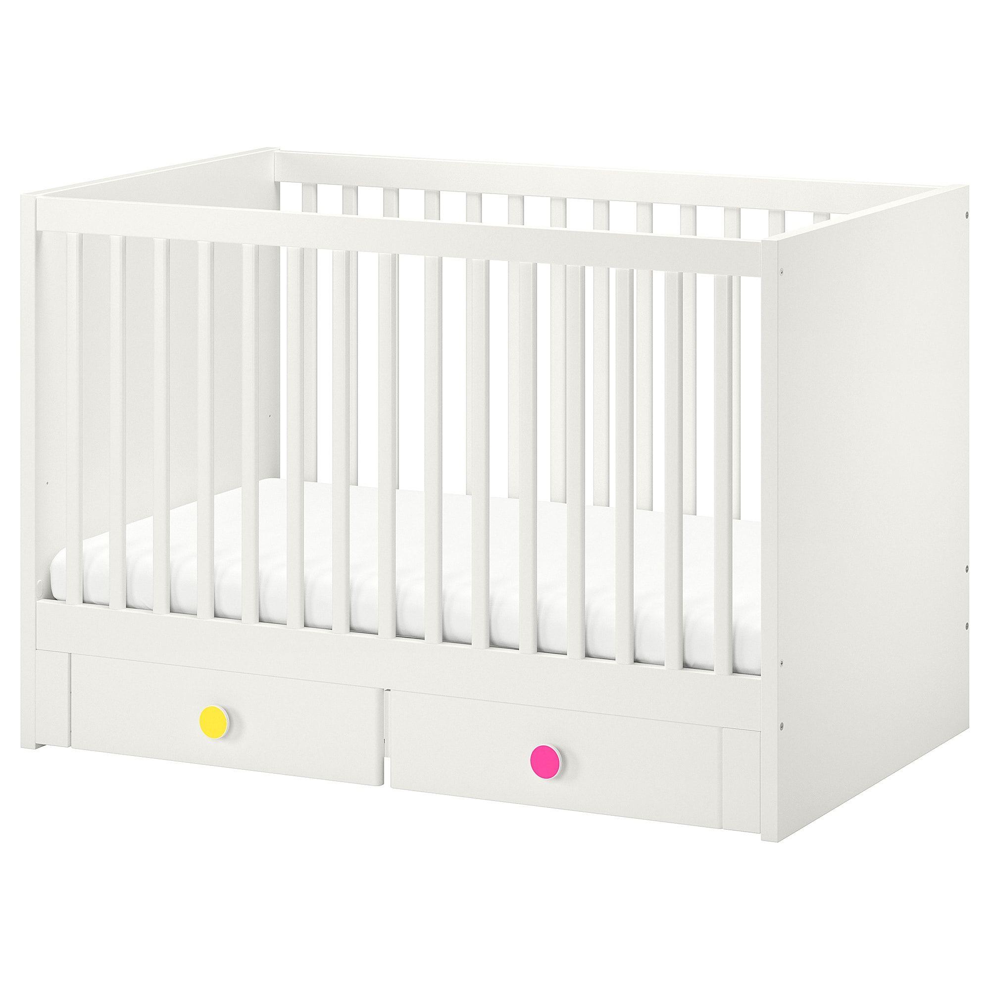 Stuva Folja Crib With Drawers White 27 1 2x52 Ikea Stuva Cribs Ikea Crib