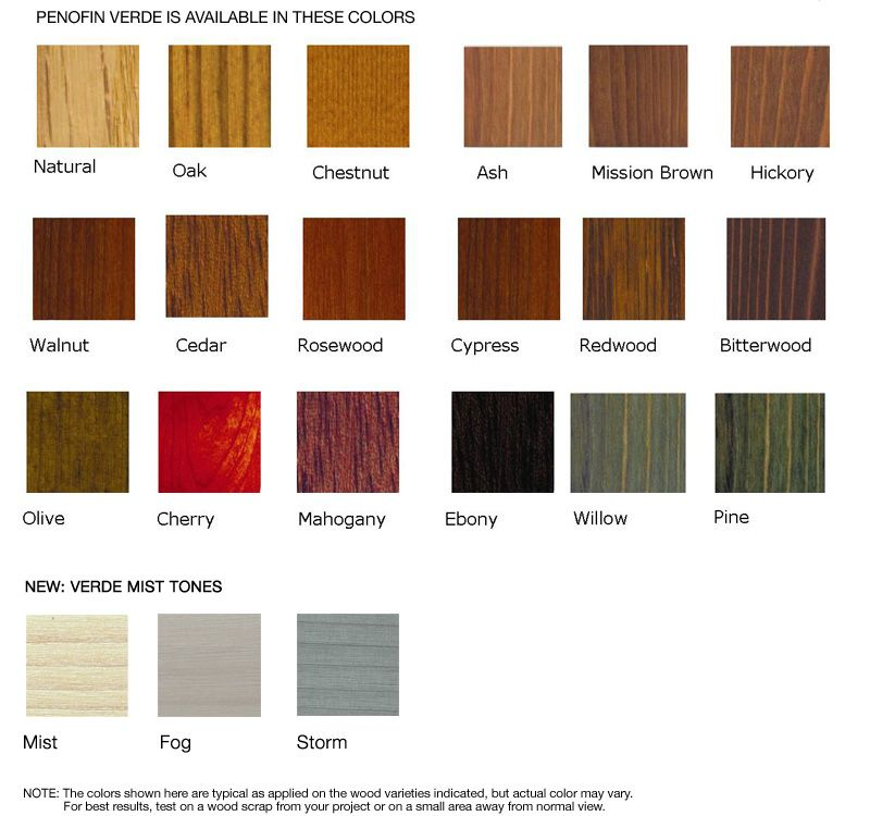 Verde Environmentally Friendly Wood Stain Staining Wood Wood Stain Color Chart Staining Deck
